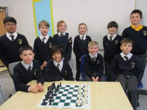 St Joseph's Primary chess players through to semi-final of national competition