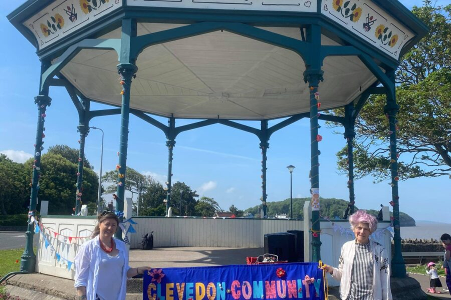 Great vibes and variety at Clevedon Literary Festival