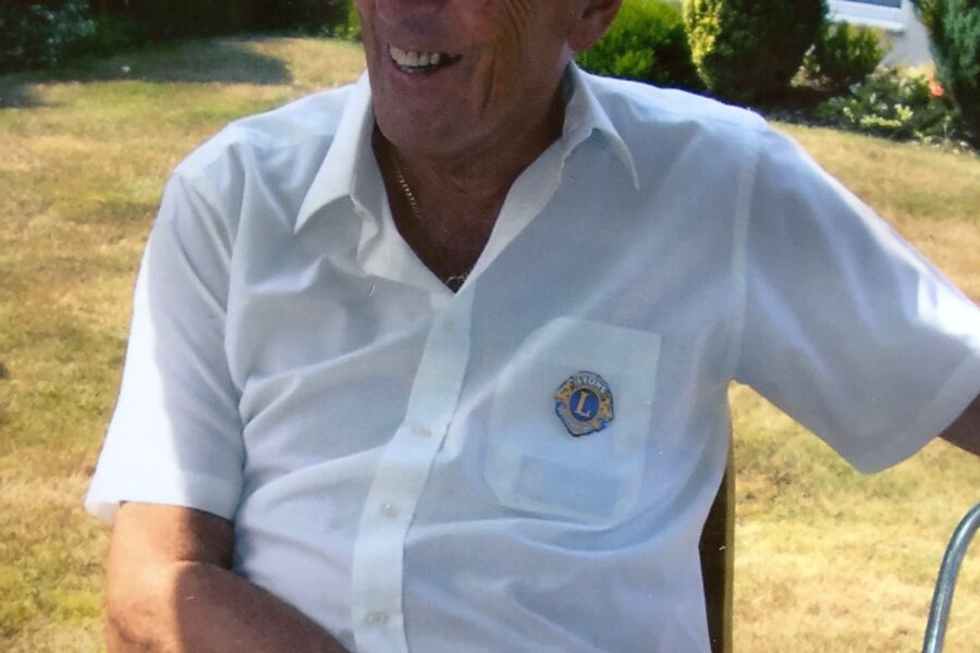 Clevedon Lions pay tribute to founding member Gray Bloxham